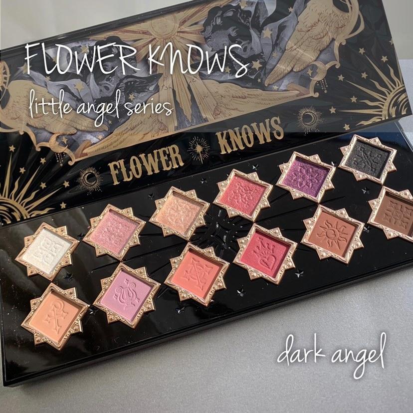 FlowerKnows(フラワーノーズ)リトルエンジェル12色アイシャドウパレットを使ったマト子さんのクチコミ画像