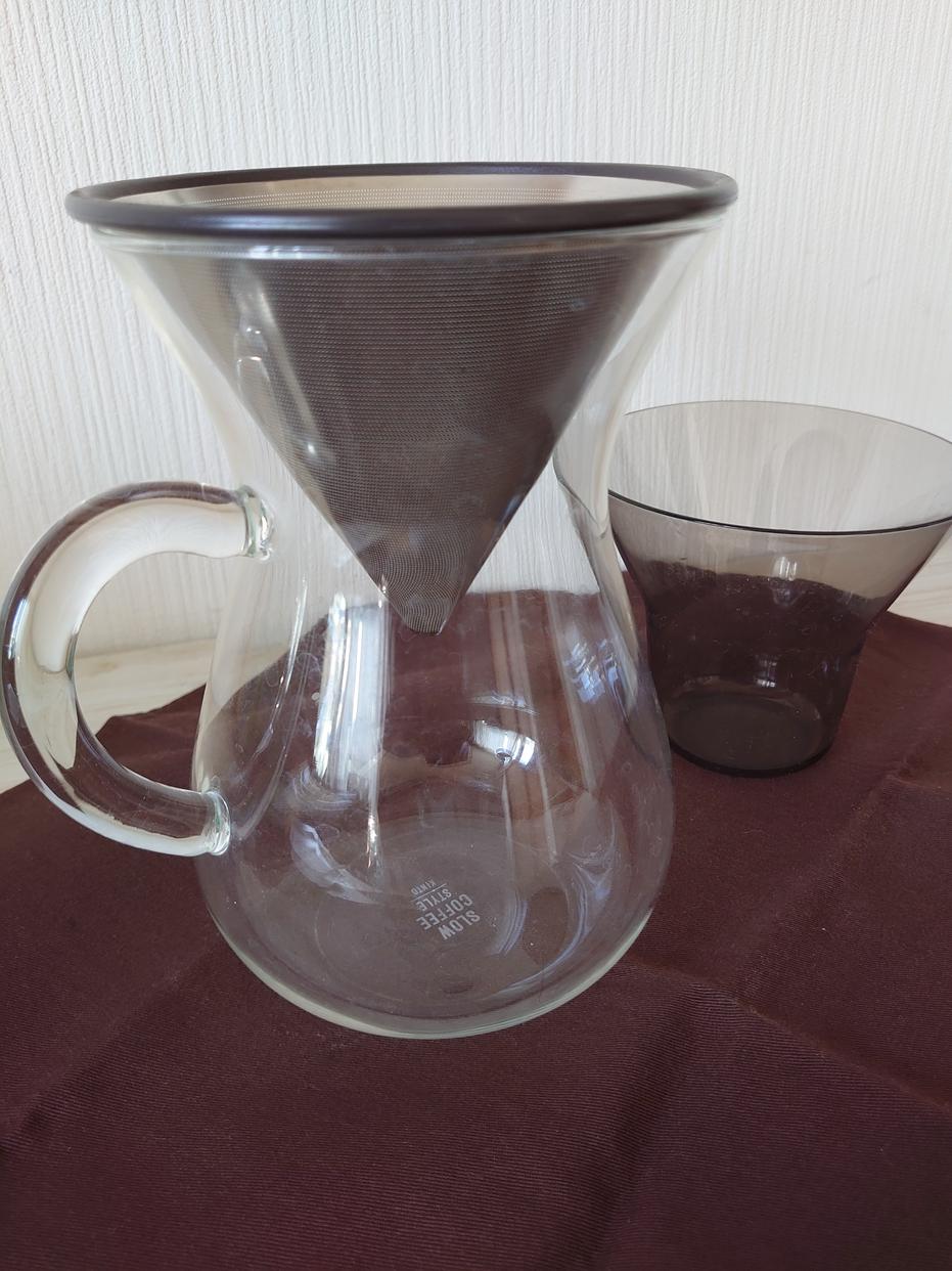 KINTO(キントー)SCS コーヒーカラフェセット 4cups 27621を使ったエルマー エレベーターさんのクチコミ画像1