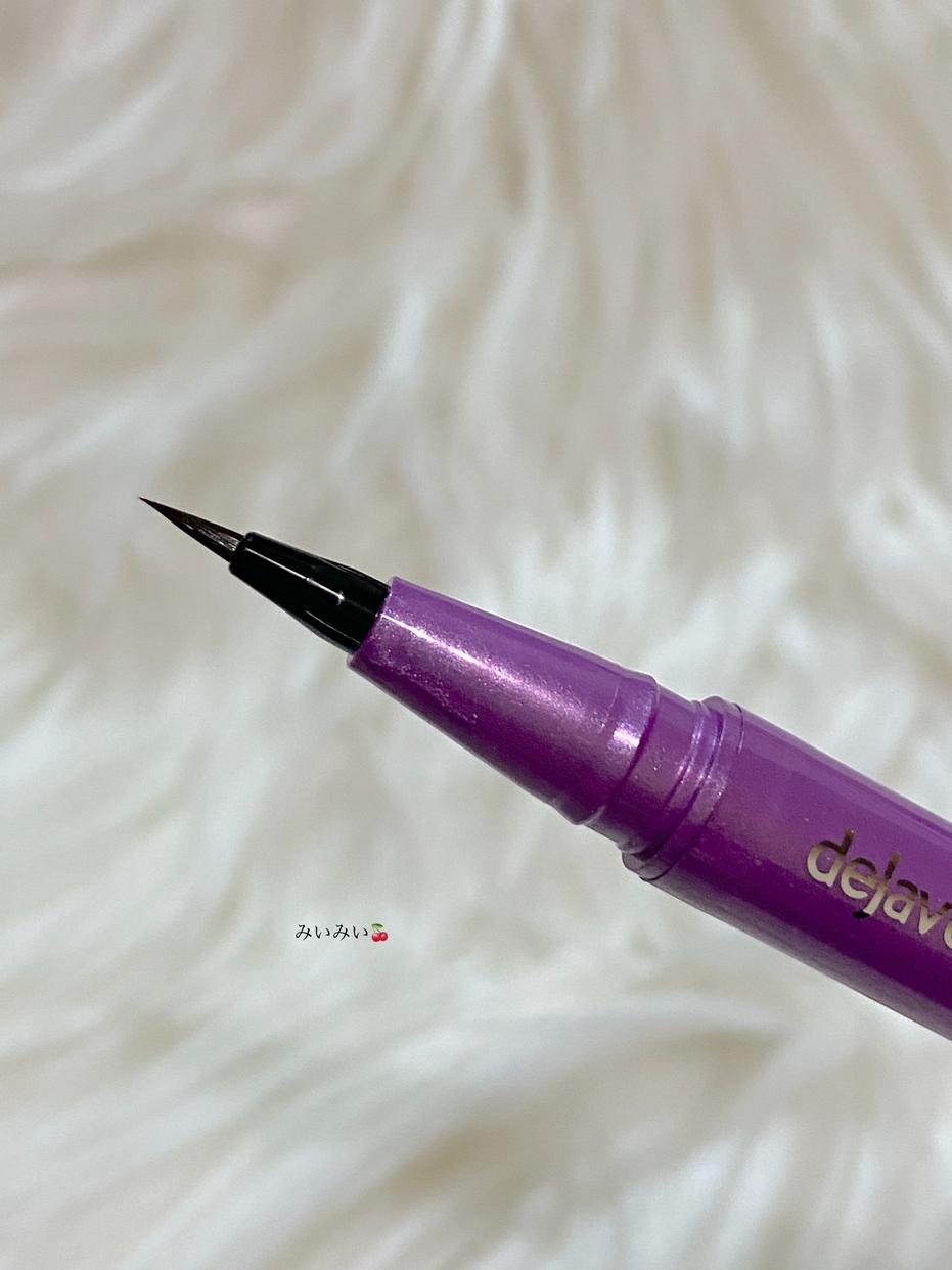 dejavu(デジャヴュ) 密着アイライナー ラスティンファイン ショート筆リキッドを使ったみいみい🍒さんのクチコミ画像2