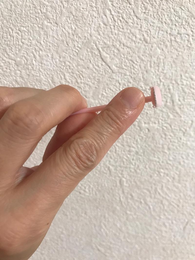ニッケンかみそりキワの細かいところに便利な超ミニT型かみそりを使ったkirakiranorikoさんのクチコミ画像1
