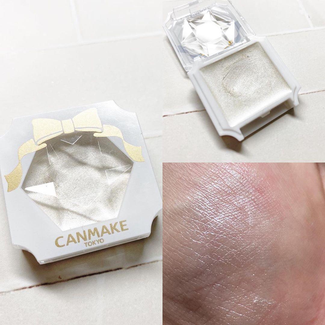CANMAKE(キャンメイク)クリームハイライターを使ったあっきーさんのクチコミ画像1
