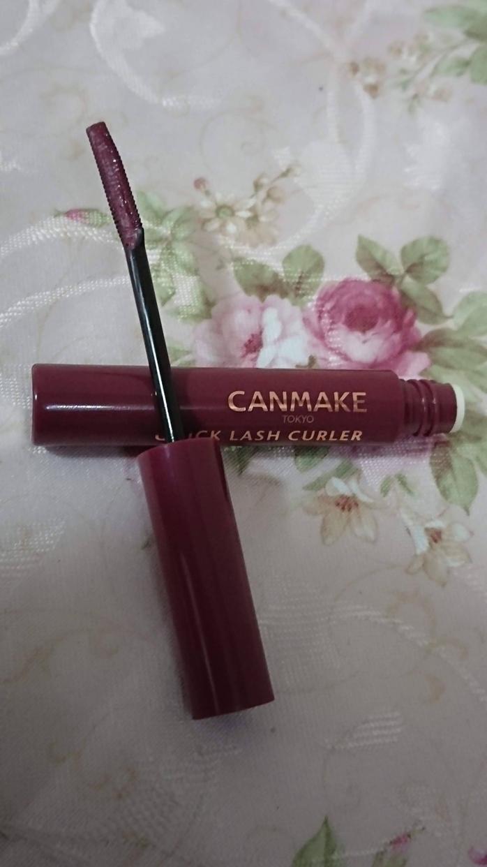 CANMAKE(キャンメイク) クイックラッシュカーラー ロングマスカラを使った白黒小豆さんのクチコミ画像2