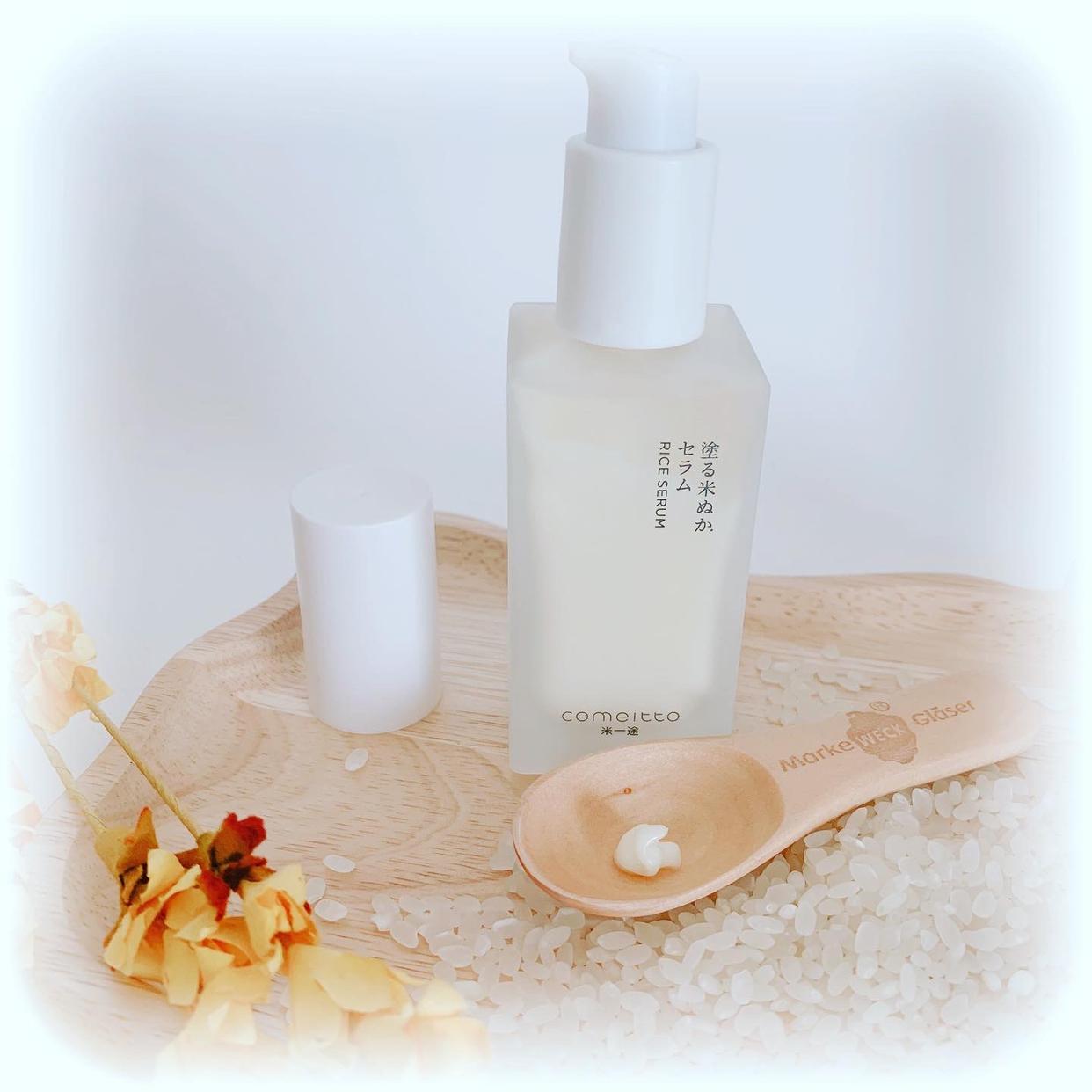 米一途(comeitto) 塗る米ぬかセラムを使ったsnowmiさんのクチコミ画像2