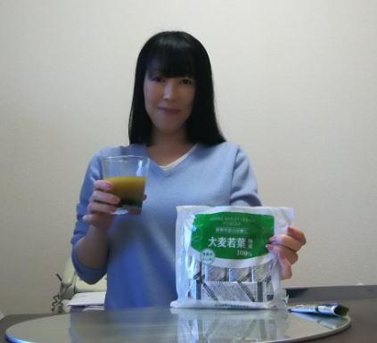 山本漢方製薬(ヤマモトカンポウセイヤク)ユーグレナプラス大麦若葉粉末を使った             東 洋美さんのクチコミ画像