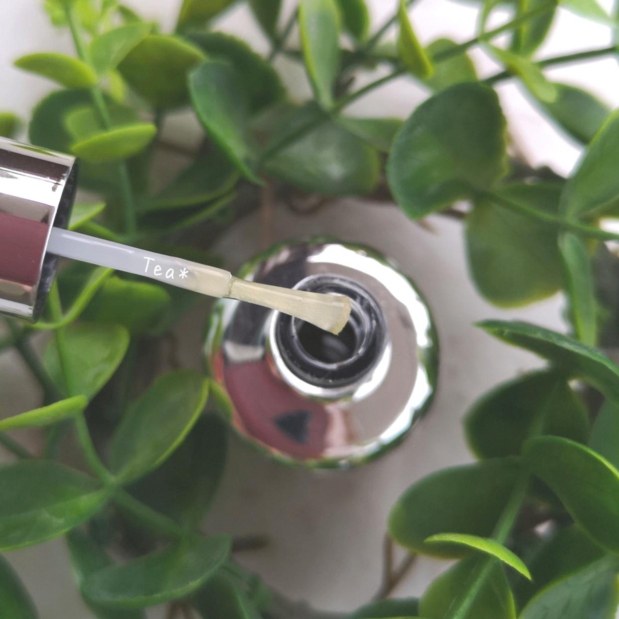 D-UP(ディーアップ)ネイル ミリオンシャイン トップコートを使ったTea*さんのクチコミ画像2