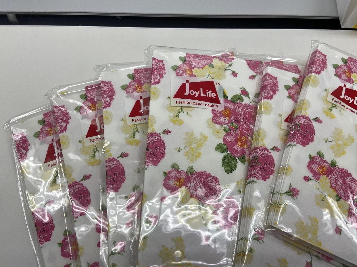 パルマートファッションペーパーナプキンを使ったyunaさんのクチコミ画像1