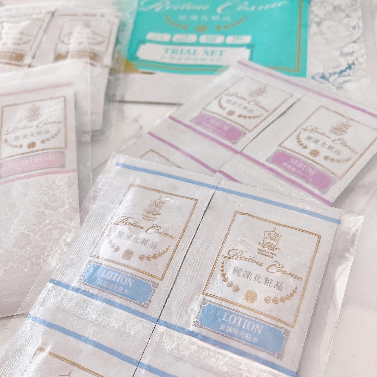 麗凍化粧品(Reitou Cosme) トライアルセットの良い点・メリットに関する岡村 有沙さんの口コミ画像2