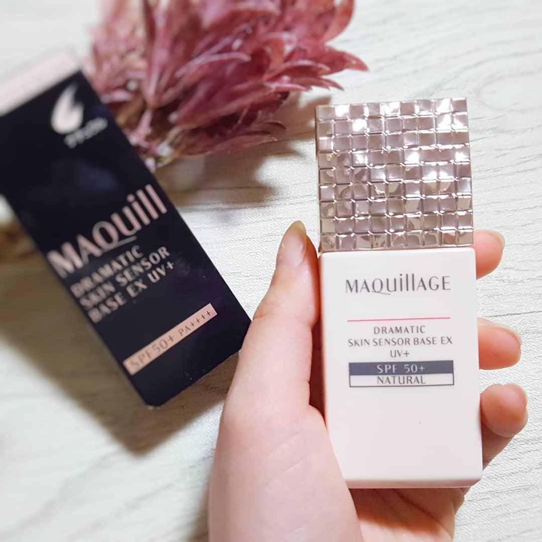 MAQUillAGE(マキアージュ)ドラマティックスキンセンサーベース EX UV+を使った銀麦さんのクチコミ画像