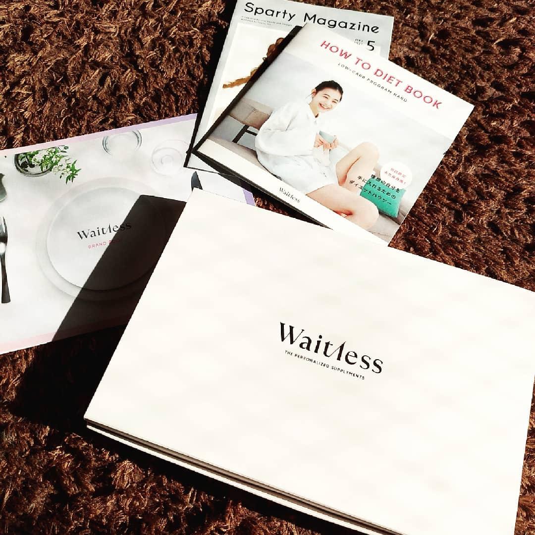 Waitless(ウェイトレス) ダイエット プログラム & サプリメント 2種を使ったまるもふさんのクチコミ画像1