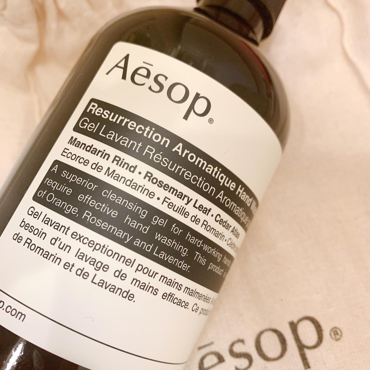 Aesop(イソップ) リンスフリー ハンドウォッシュ 500mlを使ったおもちもちこさんのクチコミ画像1