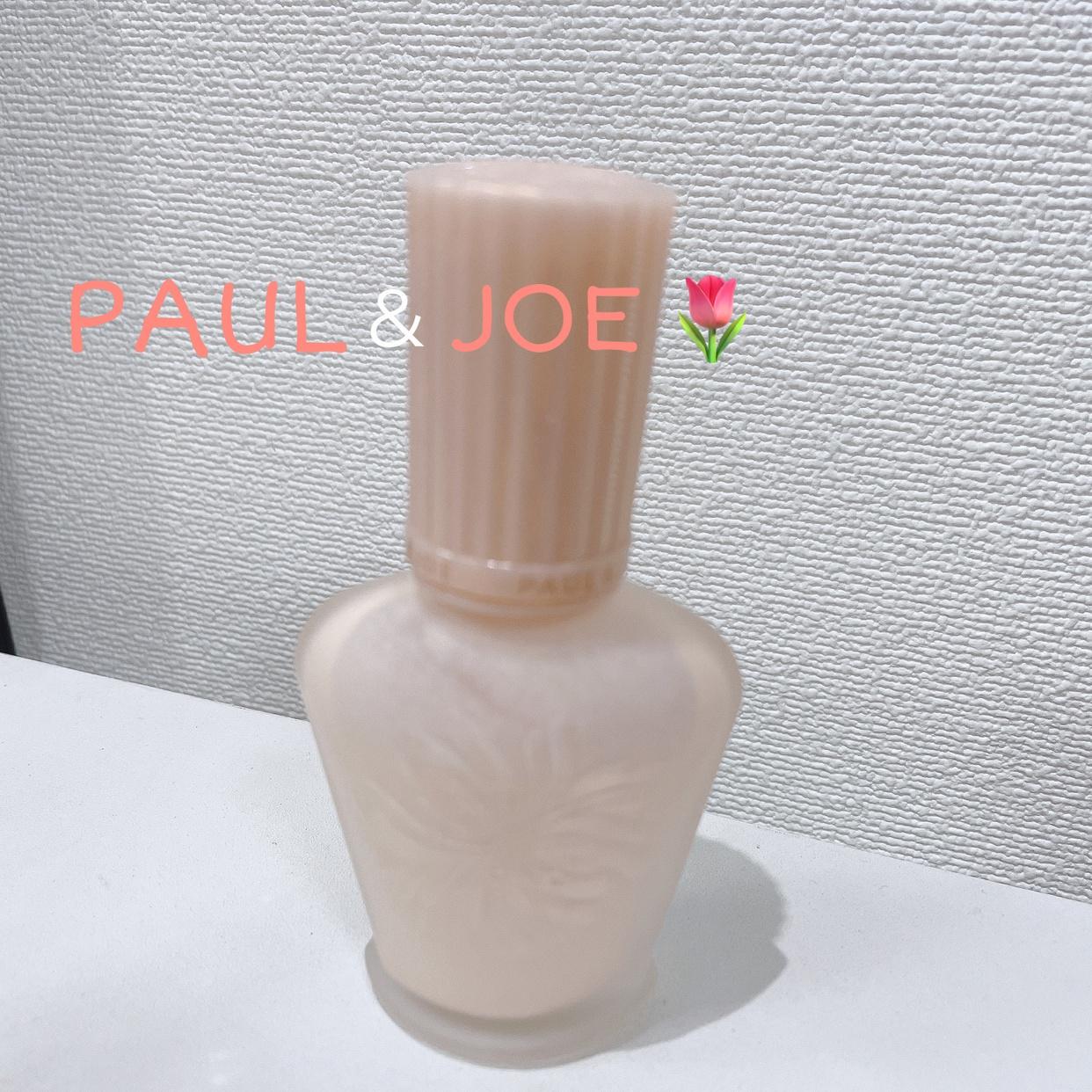 PAUL & JOE BEAUTE(ポールアンドジョー ボーテ) モイスチュアライジング ファンデーション プライマー Sを使ったゆっちんさんのクチコミ画像1