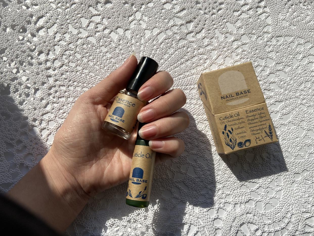 NAIL BASE(ネイルベース)キューティクルオイルと爪の美容液のセットを使ったcandyairiさんのクチコミ画像3