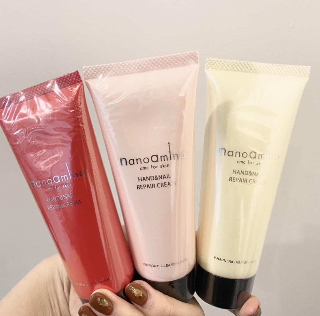 nanoamino(ナノアミノ)ハンド&ネイル リペア クリームを使ったrinaさんのクチコミ画像