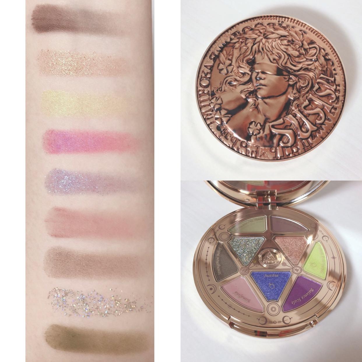 SUSISU(スーシース) ラッキーコインズ 9色アイシャドウパレットを使った桜羽さんのクチコミ画像3