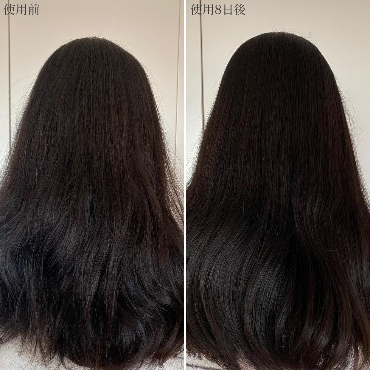 HAIR RECIPE(ヘアレシピ)和の実 つるん シャンプー/トリートメントを使ったHimachinさんのクチコミ画像6