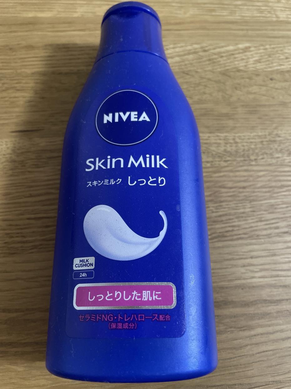 NIVEA(ニベア)スキンミルク しっとりを使ったはっぴさんのクチコミ画像1