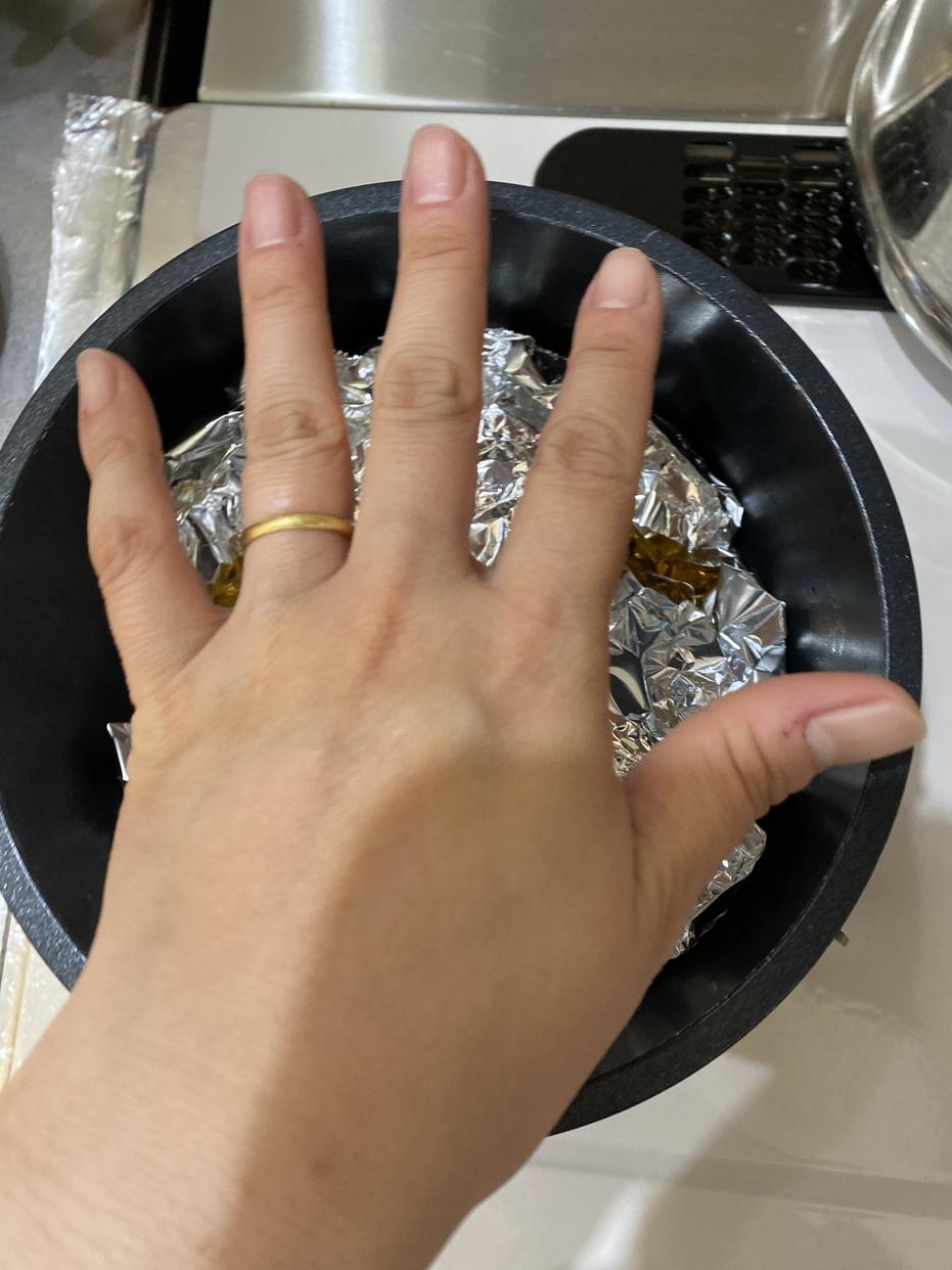IRIS OHYAMA(アイリスオーヤマ)ダイヤモンドコートパン 9点セットを使ったいぬのしっぽさんのクチコミ画像2