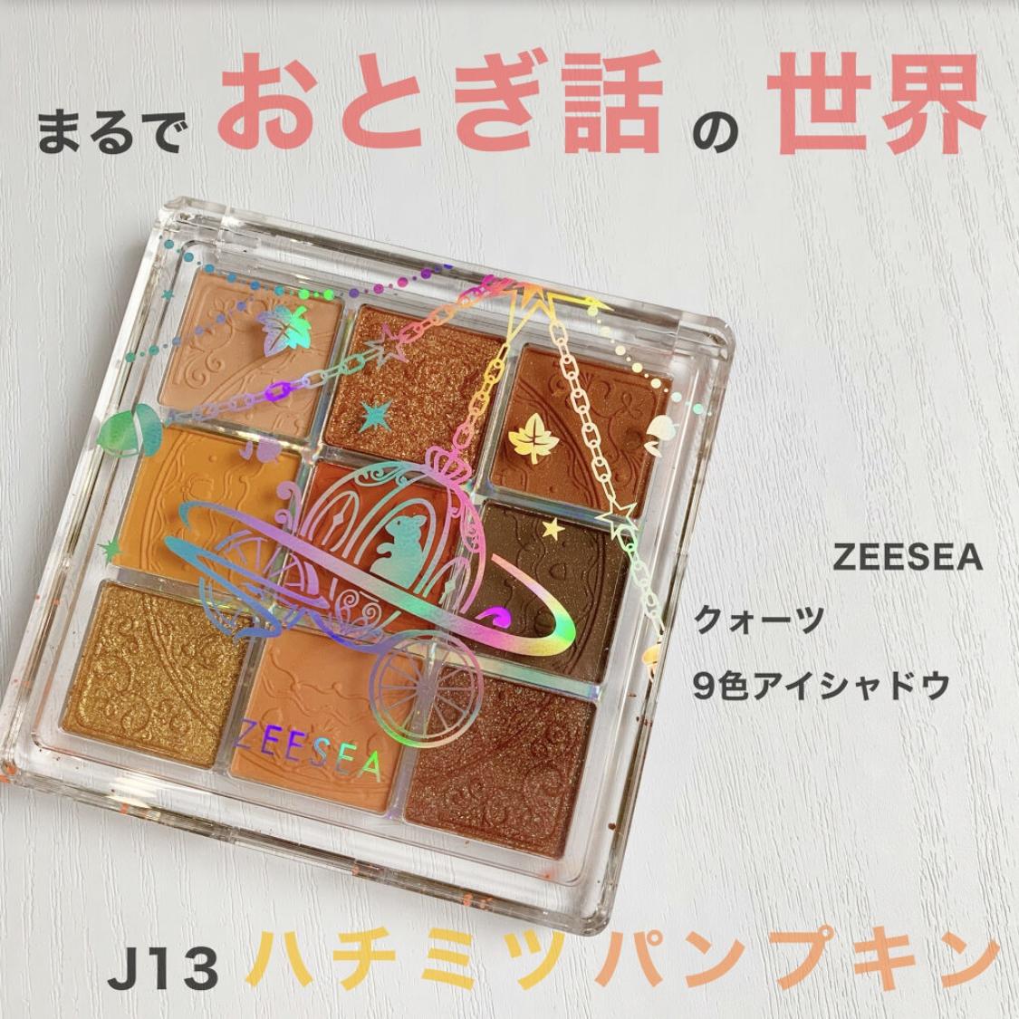 ZEESEA(ズーシー)クォーツ 9色アイシャドウパレットを使ったKeiさんのクチコミ画像