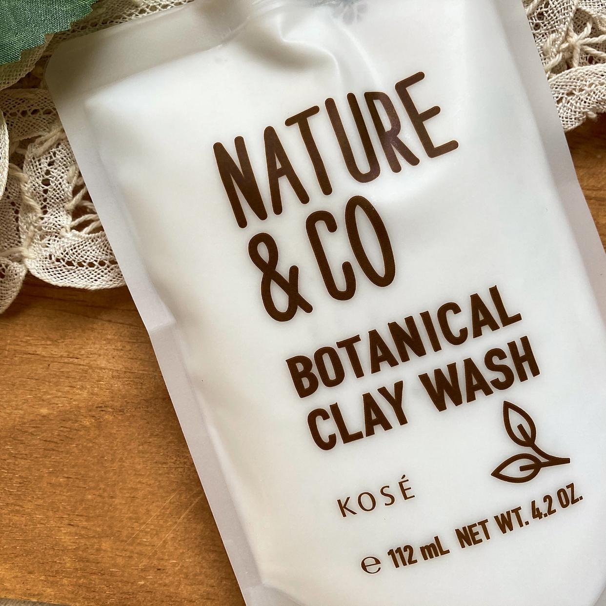 Nature&Co(ネイチャーアンドコー) ボタニカル クレイ ウォッシュを使った梅ちゃんさんのクチコミ画像2