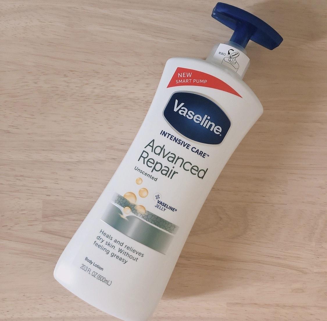 Vaseline(ヴァセリン)アドバンスドリペア ボディローションを使ったみーさん¨̮⸝⋆さんのクチコミ画像1