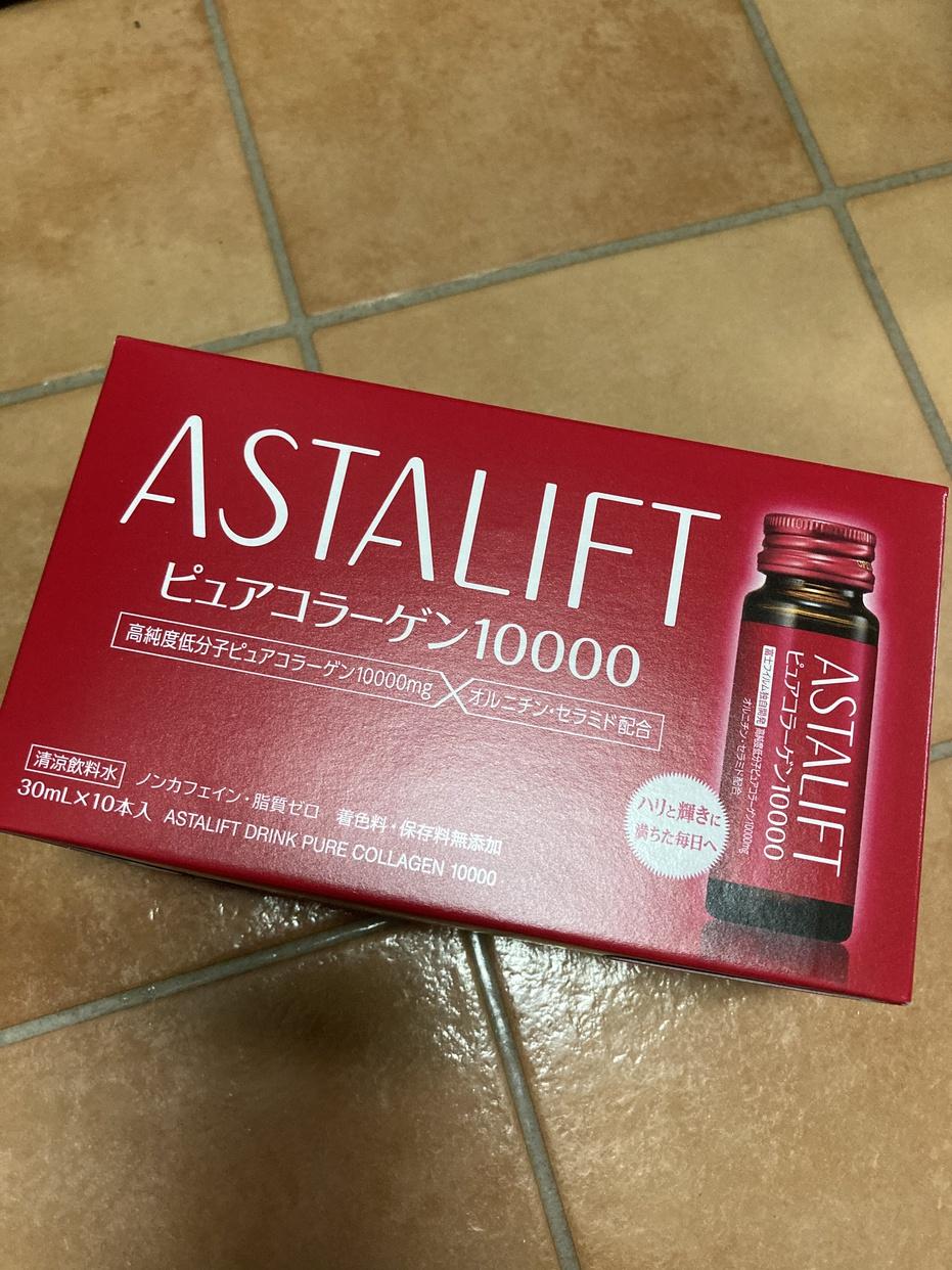 ASTALIFT(アスタリフト)ピュア コラーゲン 10000を使ったりるなさんのクチコミ画像1