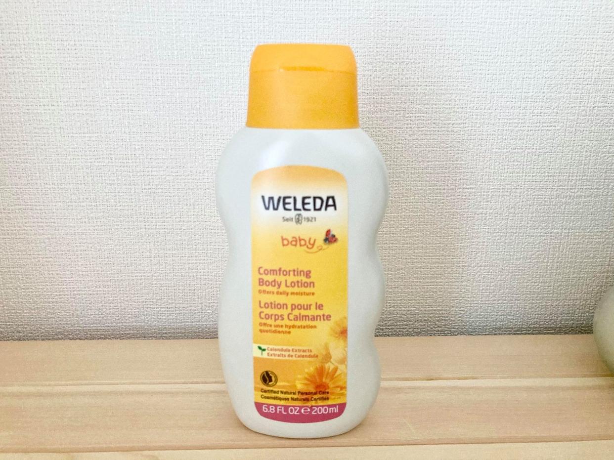 WELEDA(ヴェレダ) カレンドラ ベビーミルクローションを使ったEvaさんのクチコミ画像1