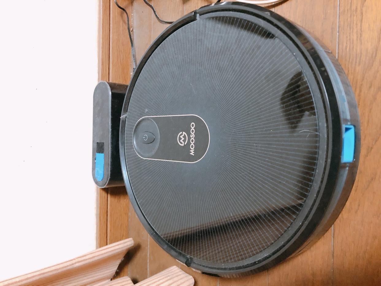 MOOSOO(モーソー)MT501ロボット掃除機を使った岡田ゆなさんのクチコミ画像1