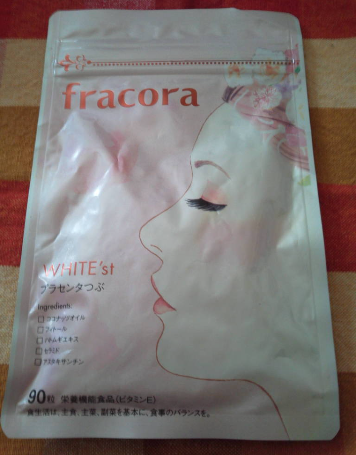 fracora(フラコラ)プラセンタつぶを使ったバドママ★さんのクチコミ画像1