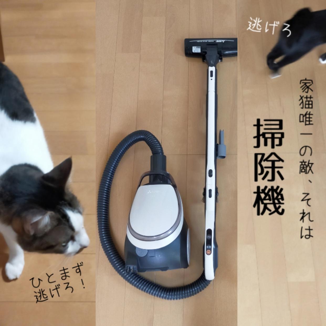 三菱電機(MITSUBISHI ELECTRIC)掃除機 TC-GXG7Pを使ったねこちえさんのクチコミ画像1