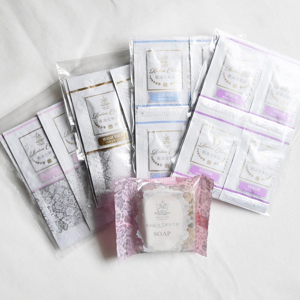 麗凍化粧品(Reitou Cosme) トライアルセットを使ったcos.riocaさんのクチコミ画像3