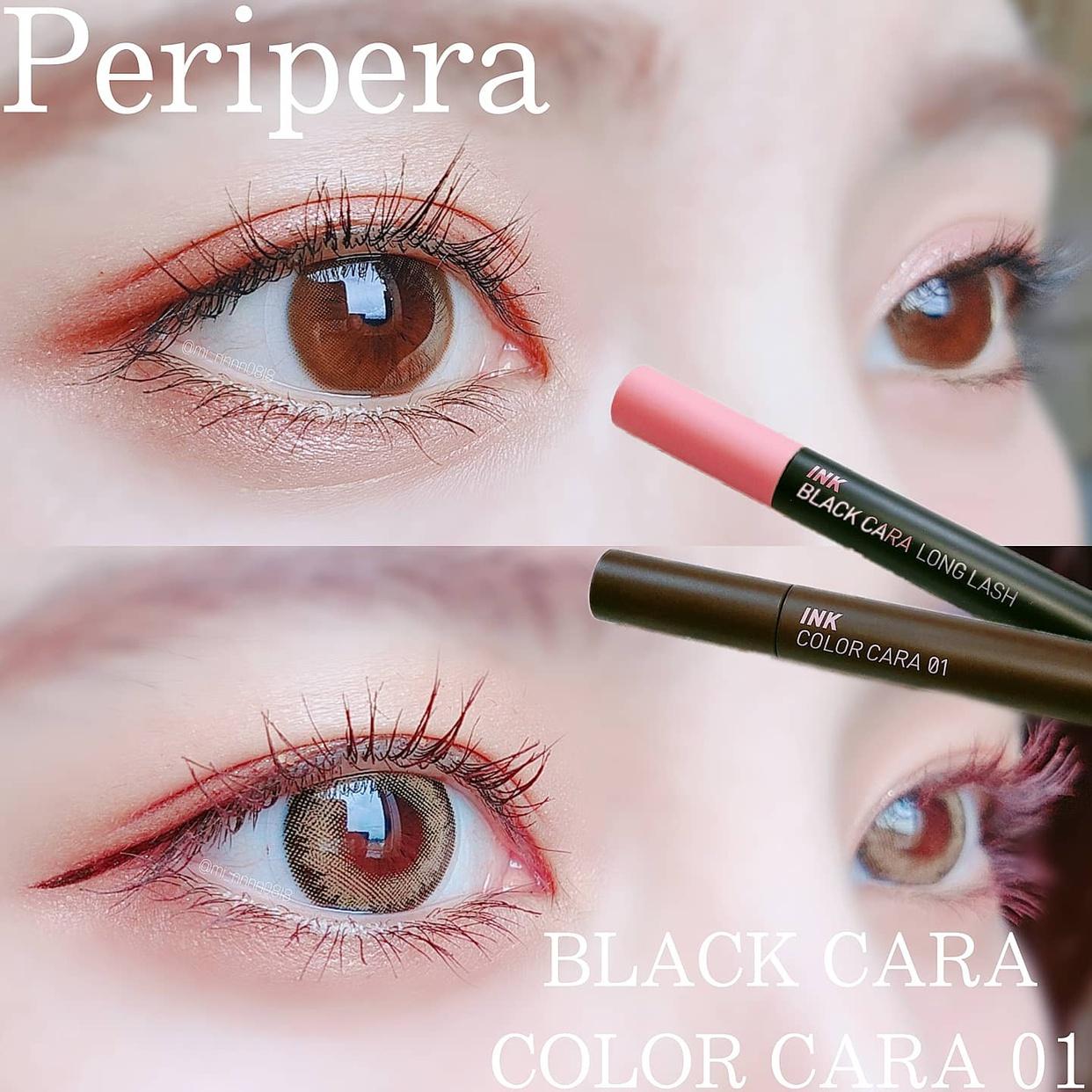 peripera(ペリペラ) インク ブラック カラを使ったmiiさんのクチコミ画像1