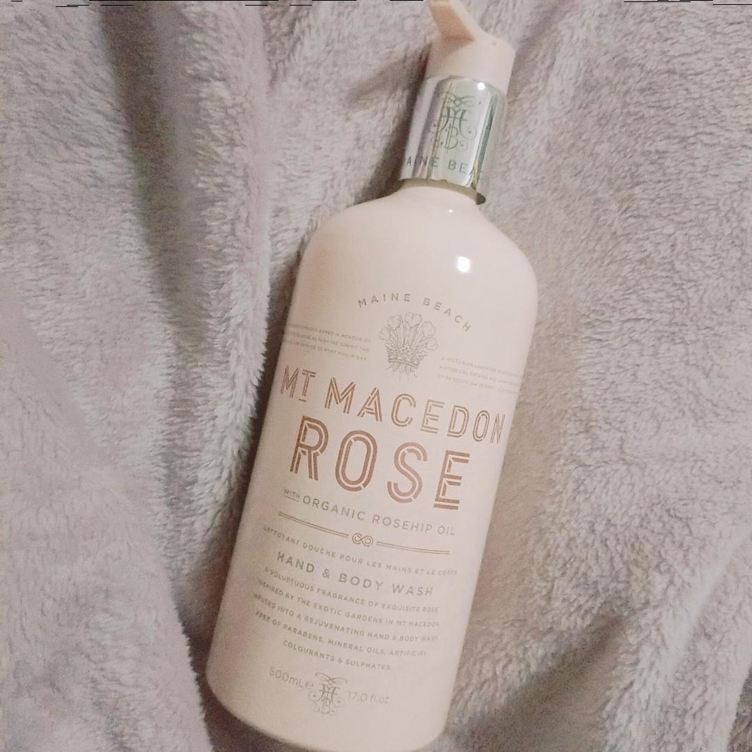 MAINE BEACH(マインビーチ)Mt Macedon Rose Hand & Body Washを使ったISMB*さんのクチコミ画像1