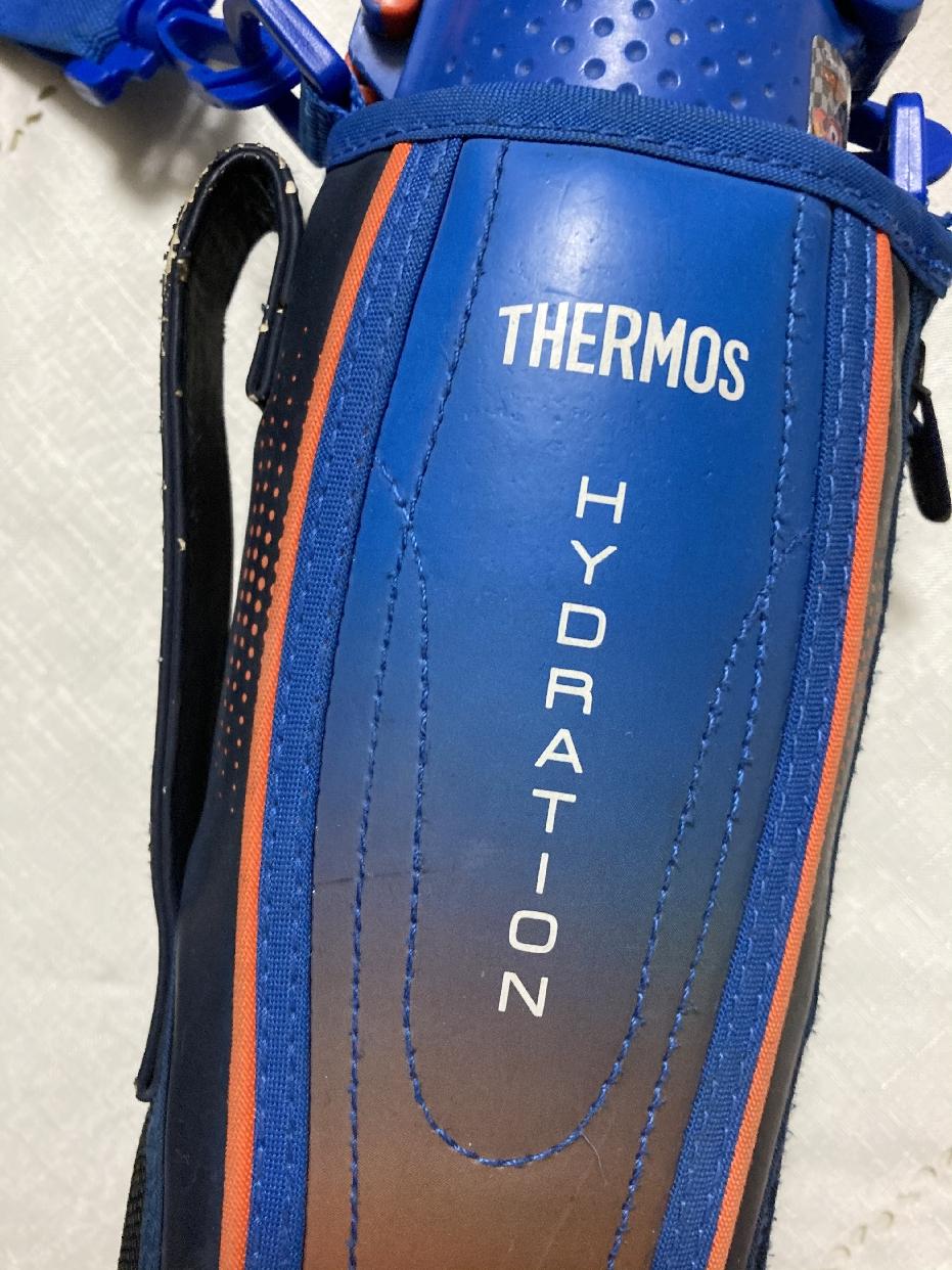 THERMOS(サーモス)真空断熱スポーツボトル FHT-1001F ブラックオレンジを使ったらむさんのクチコミ画像1