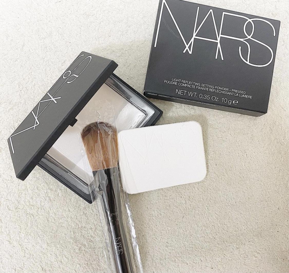 NARS(ナーズ)ライトリフレクティングセッティングパウダー プレスト Nを使ったmpさんのクチコミ画像1