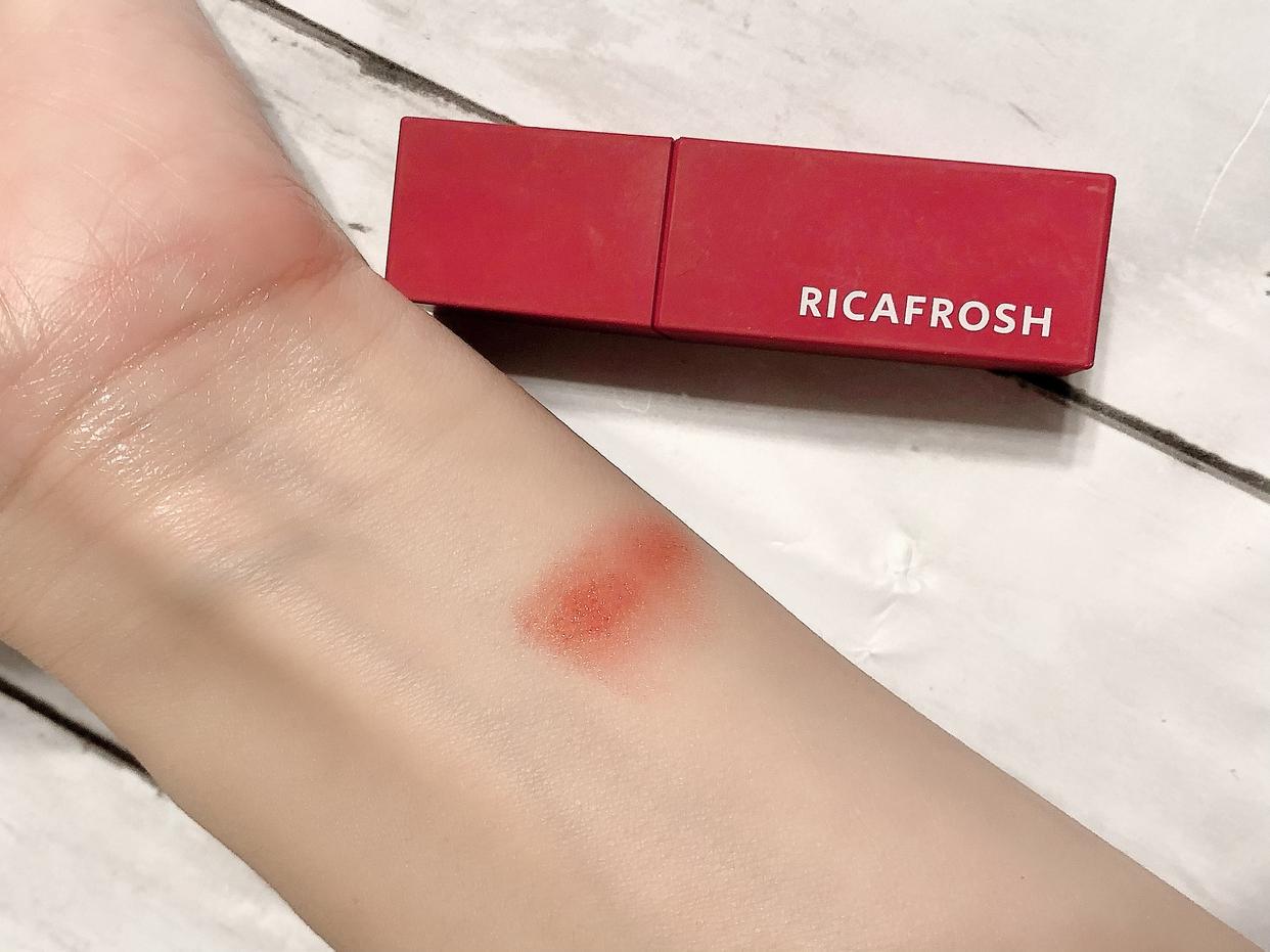 RICAFROSH(リカフロッシュ) ジューシーリブティントを使ったコスメラブさんのクチコミ画像3