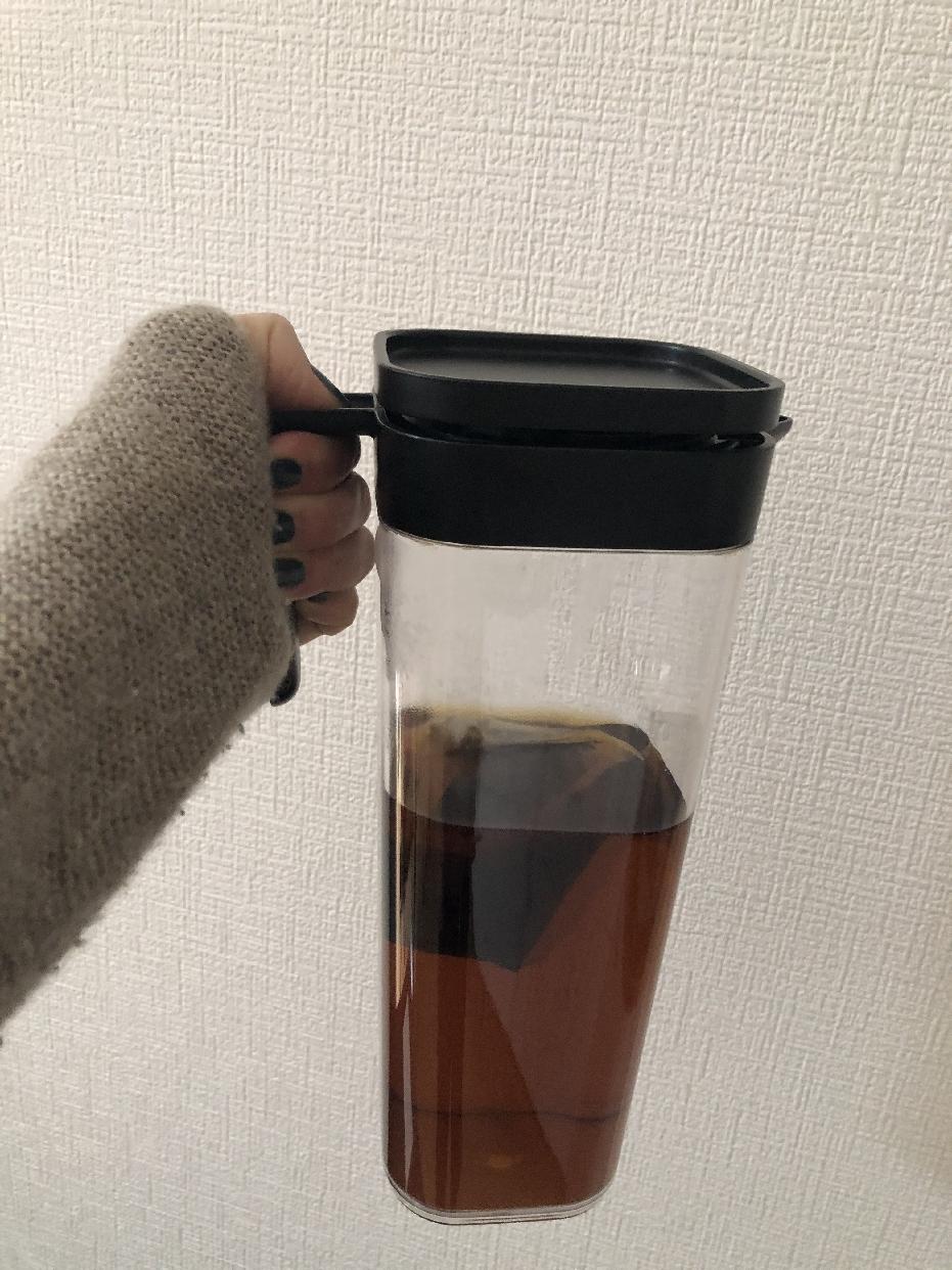DAISO(ダイソー)横置きできる冷水筒を使ったきりんさんのクチコミ画像1