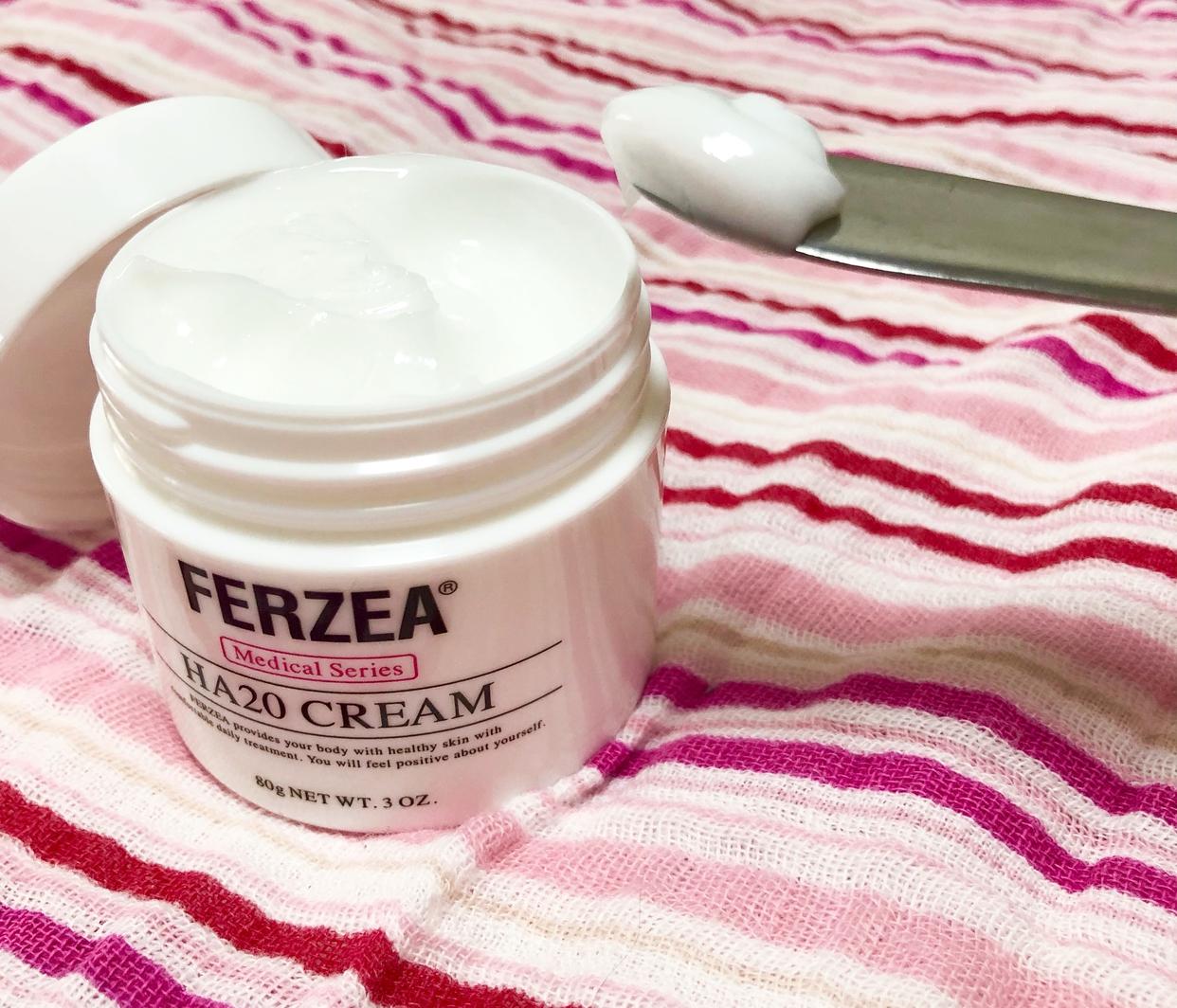 FERZEA(フェルゼア) HA20クリームを使ったきなこさんのクチコミ画像