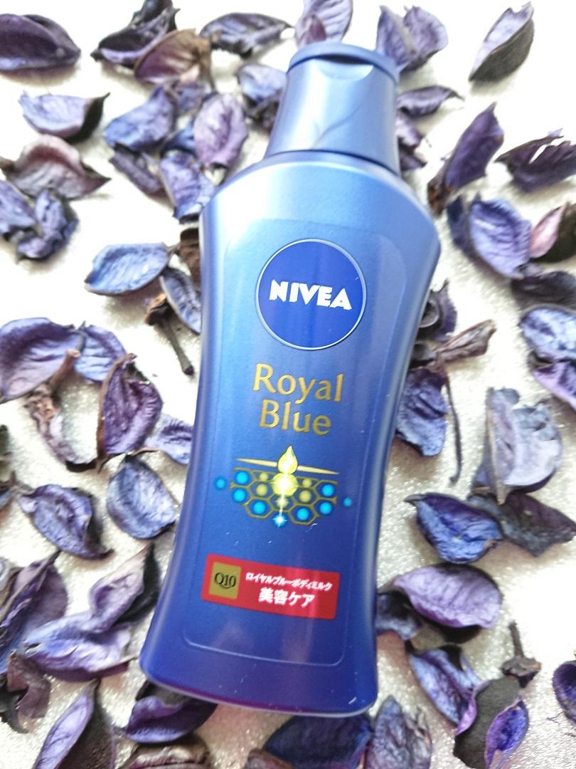 NIVEA(ニベア) ロイヤルブルーボディミルク 美容ケアの良い点・メリットに関するbubuさんの口コミ画像1