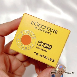 L'OCCITANE(ロクシタン)デリシャス&フルーティー リップスクラブを使ったSachikaさんのクチコミ画像2
