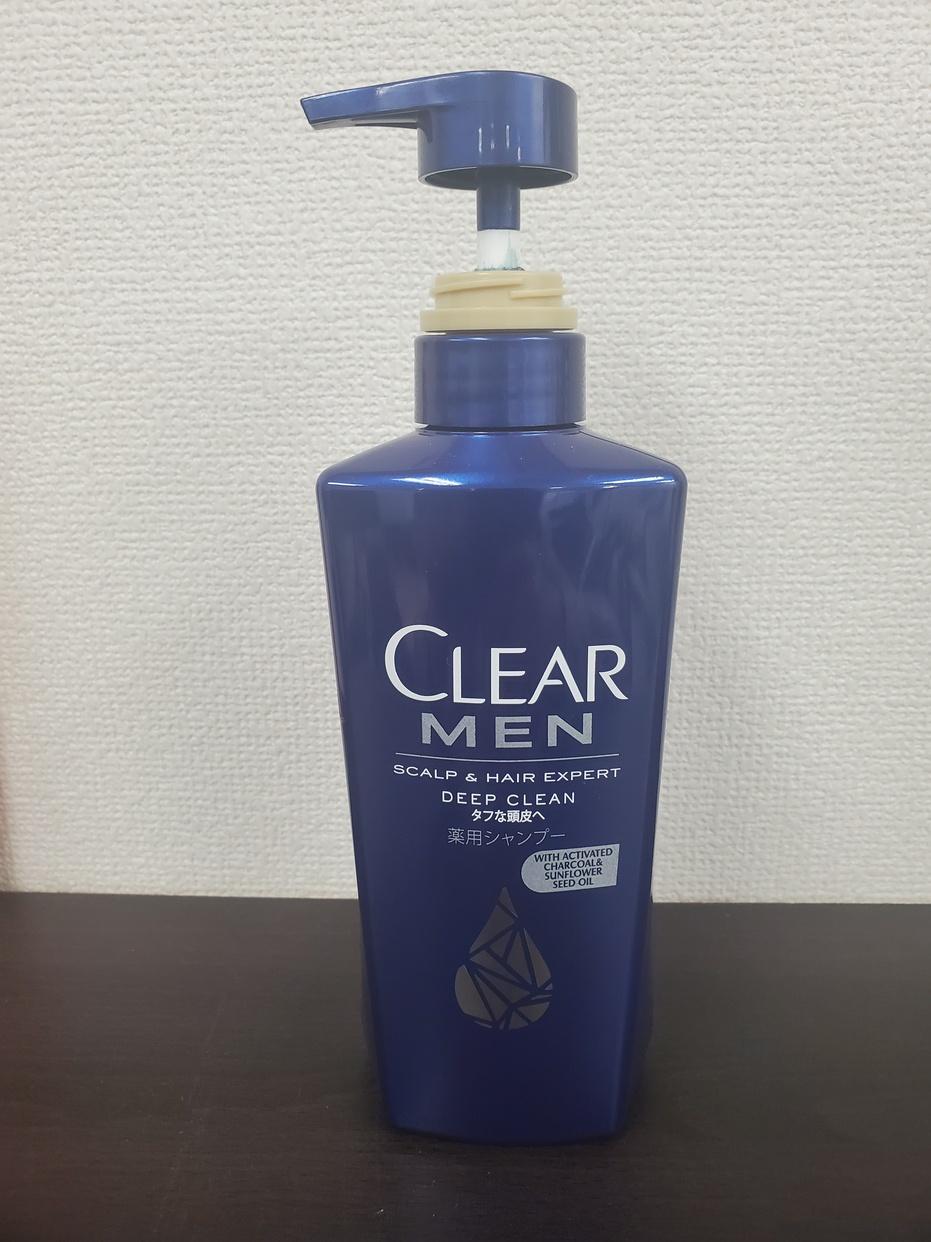 CLEAR for men(クリア フォー メン) ディープクリーン 薬用シャンプーを使った吉野 裕太さんのクチコミ画像