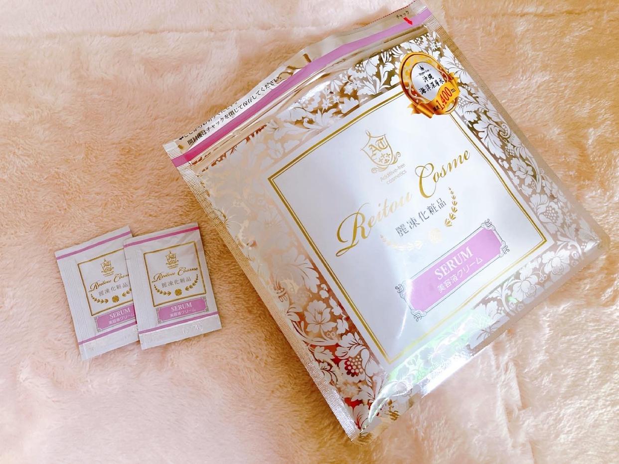 麗凍化粧品(Reitou Cosme) 美容液クリームを使ったメグさんのクチコミ画像1