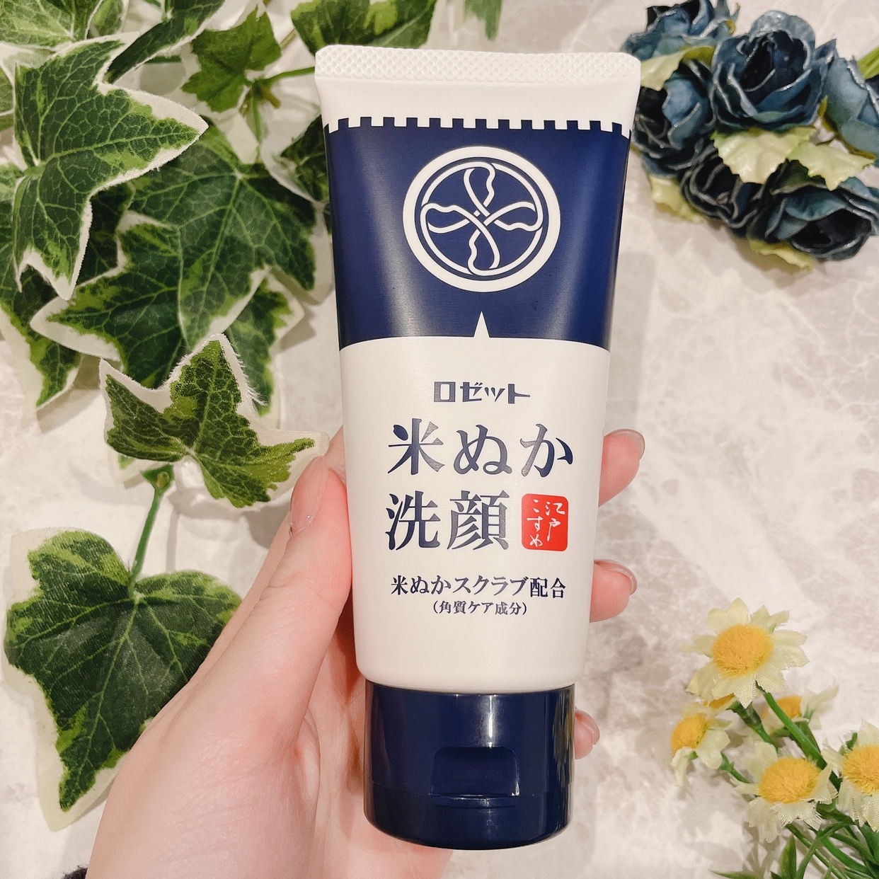 ROSETTE(ロゼット) 江戸こすめ 米ぬか洗顔を使ったひとみんさんのクチコミ画像3