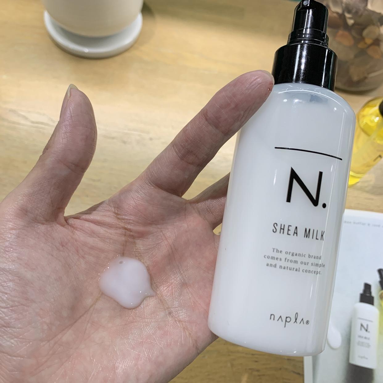 N.(エヌドット) シアミルクを使った高橋里実さんのクチコミ画像