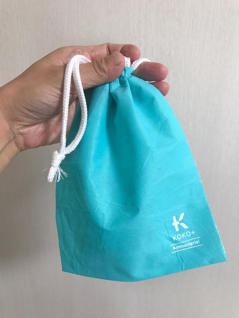 KAWAGUCHI KOKO+ Dew (R) 使用 不織布の巾着の良い点・メリットに関するkirakiranorikoさんの口コミ画像1