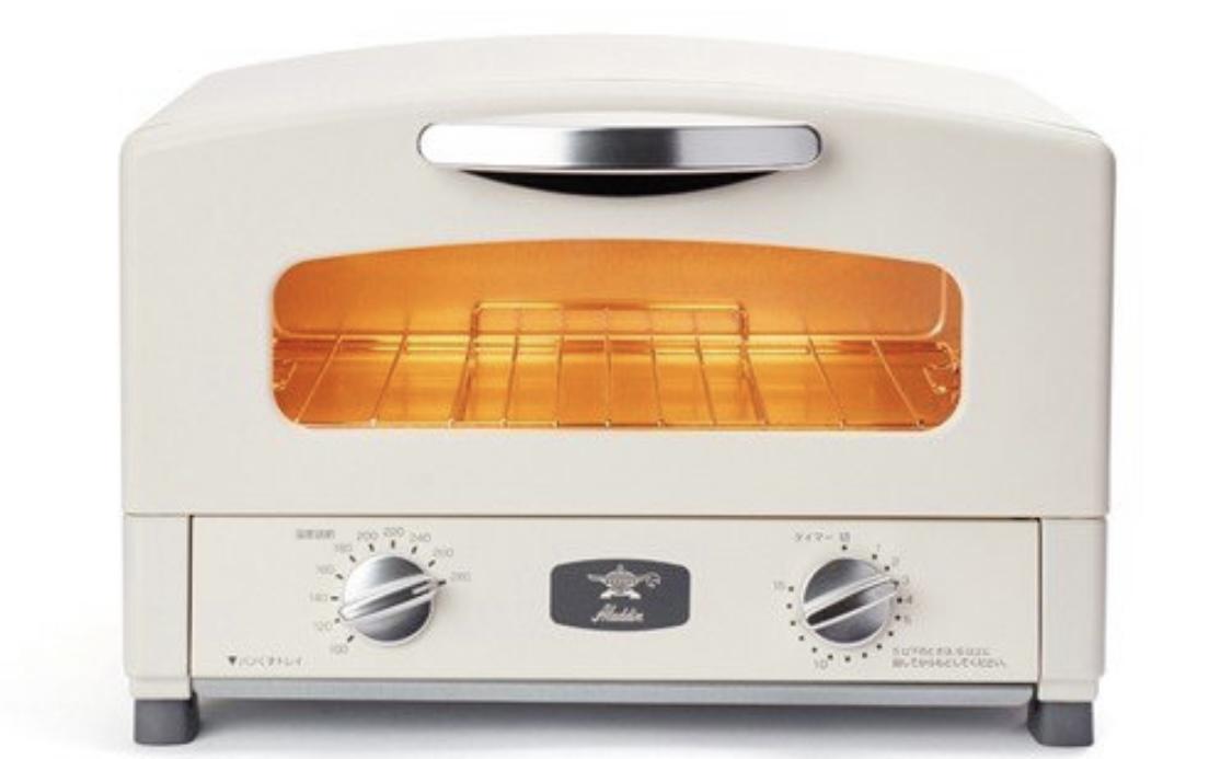 Aladdin(アラジン)新グラファイトトースター(2枚焼き)AET-GS13B/CAT-GS13Bを使った ホトメキさんの口コミ画像1