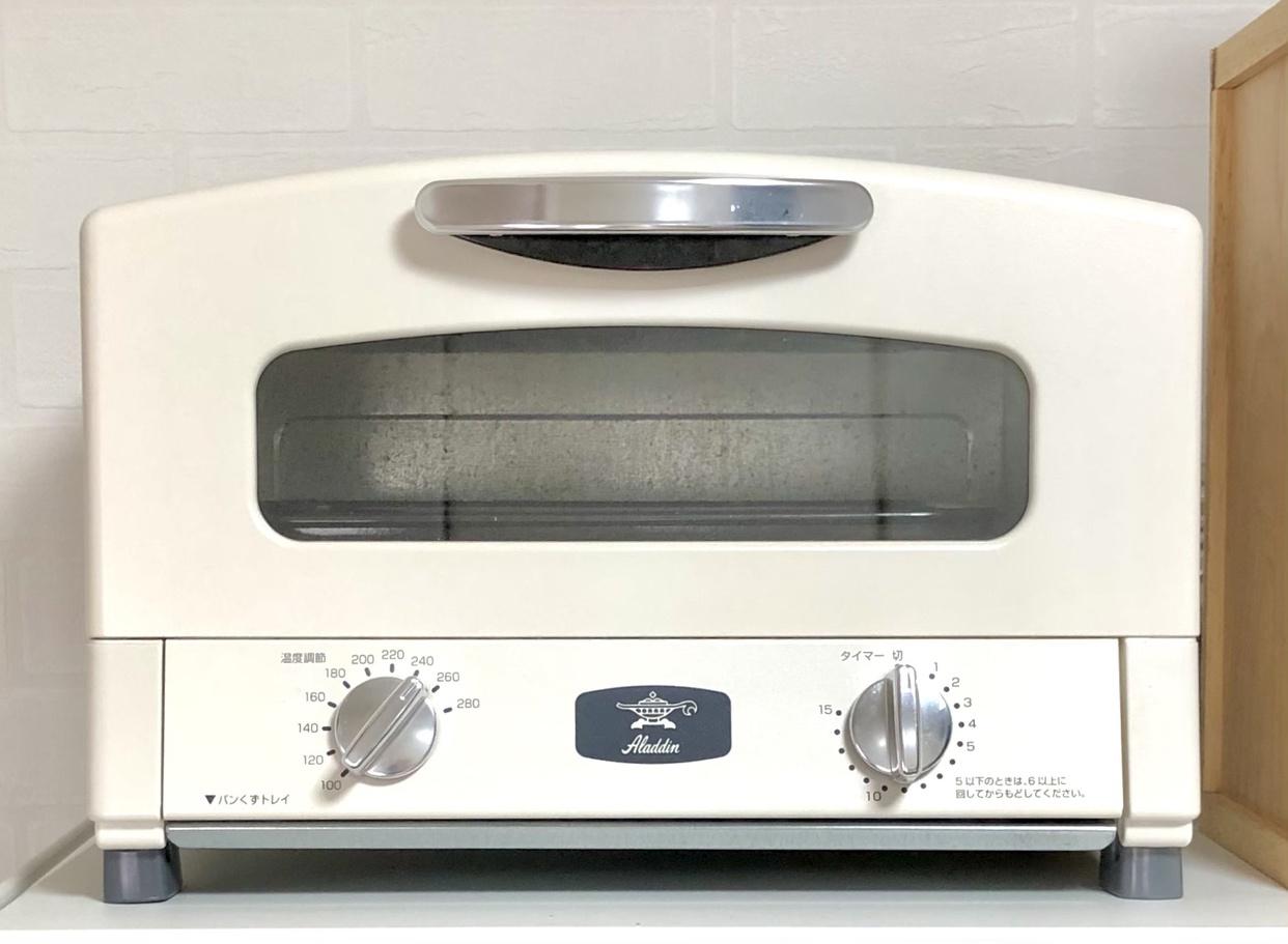 Aladdin(アラジン)新グラファイトトースター(2枚焼き)AET-GS13B/CAT-GS13Bを使ったreiさんのクチコミ画像1