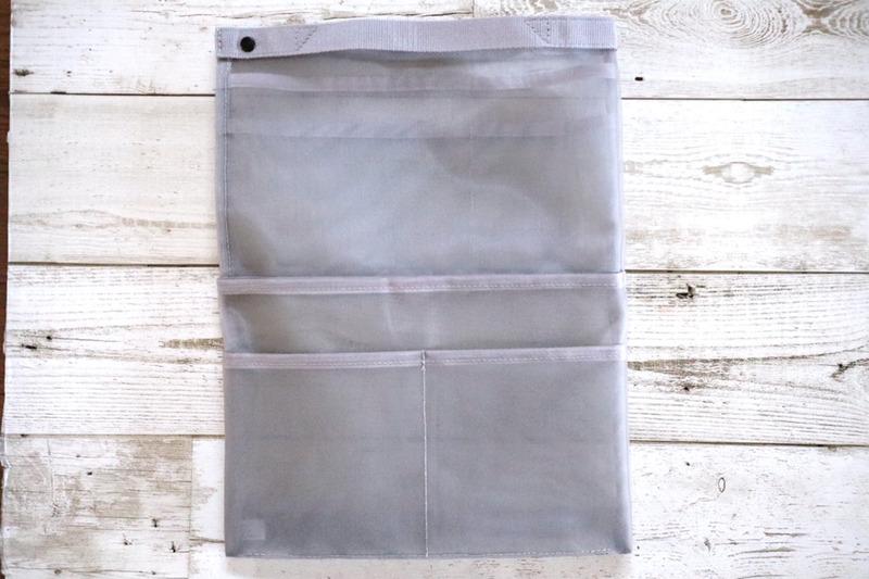 無印良品(MUJI) ナイロンメッシュバッグインバッグ A4サイズ用 タテ型の良い点・メリットに関するうにぽんさんの口コミ画像1