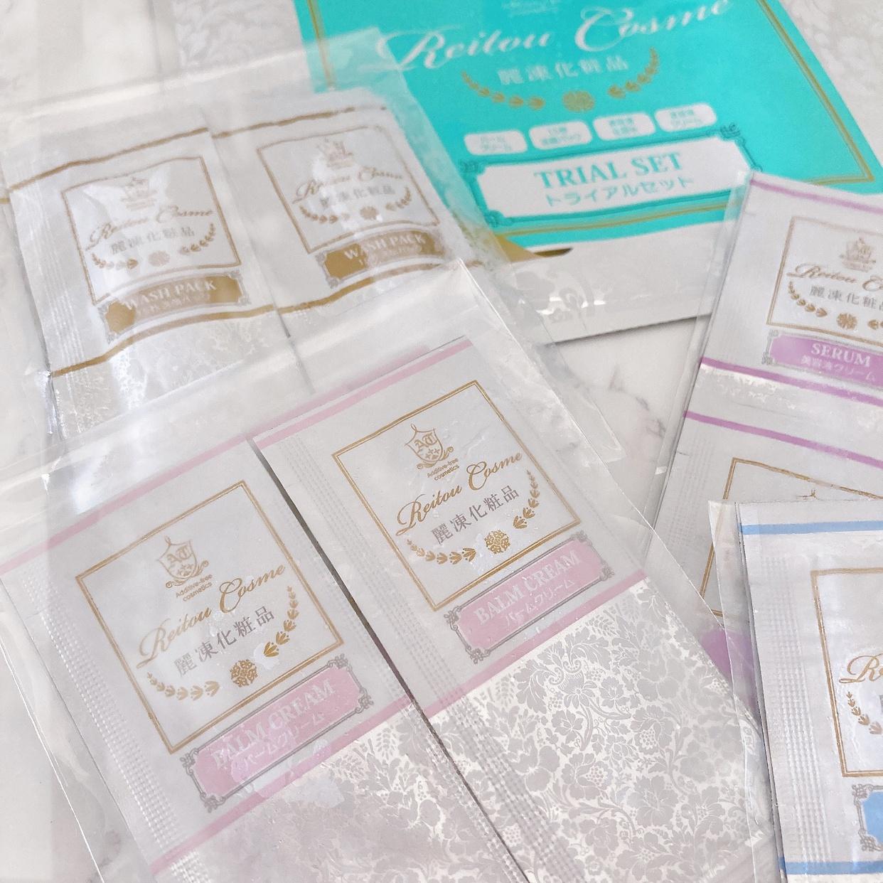 麗凍化粧品(Reitou Cosme) トライアルセットの良い点・メリットに関する岡村 有沙さんの口コミ画像1