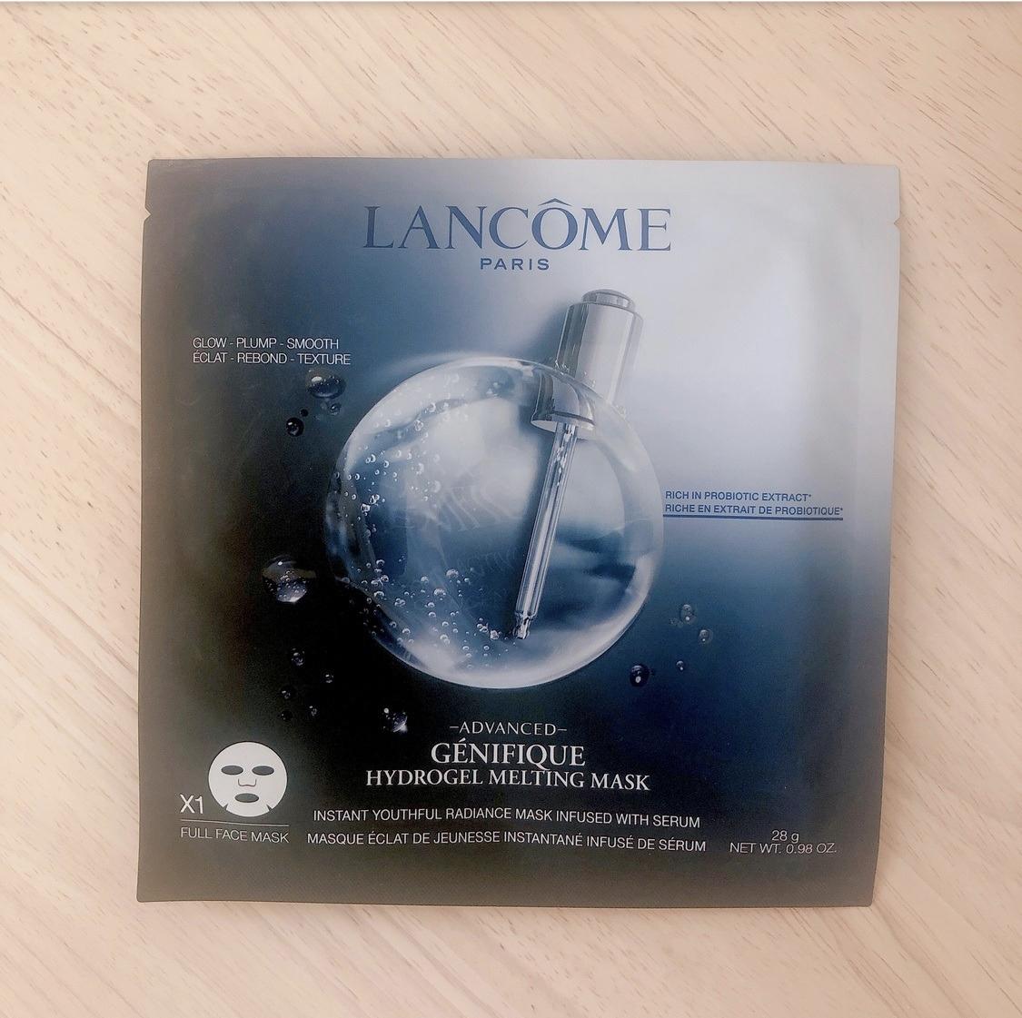 LANCOME(ランコム) ジェニフィック アドバンスト ハイドロジェル メルティングマスクの良い点・メリットに関するみーさん¨̮⸝⋆さんの口コミ画像1