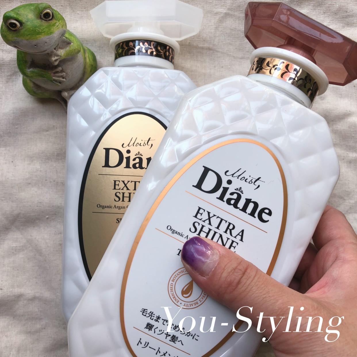 Diane(ダイアン) エクストラシャイン シャンプーを使った國唯ひろみさんのクチコミ画像